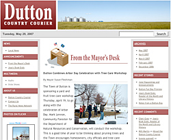 Dutton Country Courier
