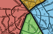 Lexington Commons Map